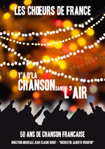 Affiche de spectacle Choeurs de France 2014
